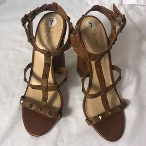 Boston Proper Women's Dress Sandals T Strap